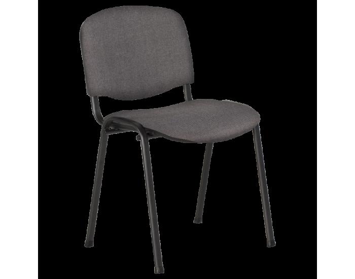 Посетителски стол модел Memo-1130 LUX - сив