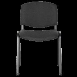 Посетителски стол модел Memo-1130 LUX - графит - Столове