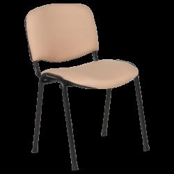 Посетителски стол модел Memo-1130 LUX - бежов - Столове