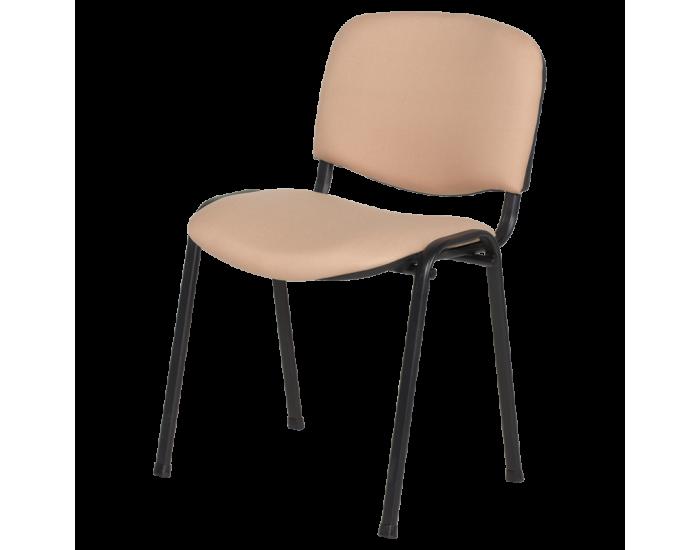 Посетителски стол модел Memo-1130 LUX - бежов