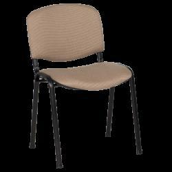 Посетителски стол модел Memo-1130 LUX - бежово-черен - Столове