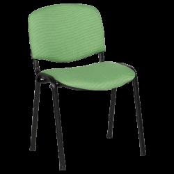 Посетителски стол модел Memo-1130 LUX - зелено-черен - Столове