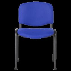 Посетителски стол модел Memo-1130 LUX - син - Столове