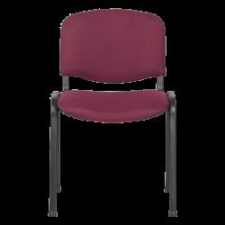 Посетителски стол модел Memo-1130 LUX - бордо - Столове