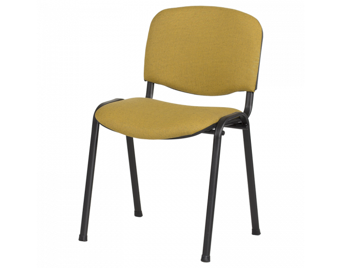 Посетителски стол  модел Memo-1130 LUX - жълто-черен