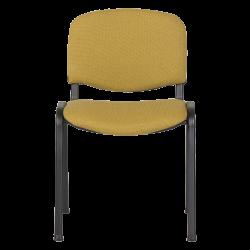 Посетителски стол  модел Memo-1130 LUX - жълто-черен - Столове