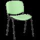 Посетителски стол модел Memo-1130 LUX - зелен