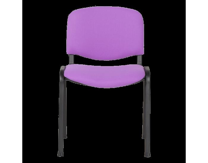 Посетителски стол модел Memo-1130 LUX - лилав