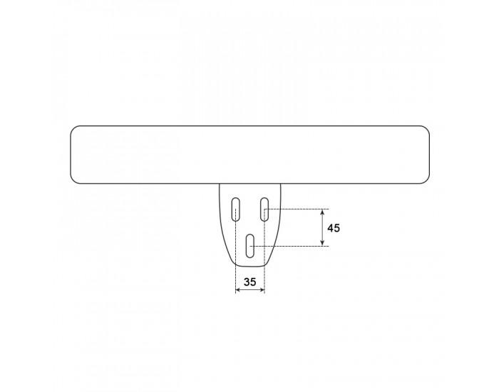Подлакътник за стол модел Memo- 6012 - ляв