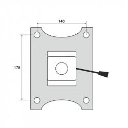 Механизъм за офис стол модел Memo- 6080-1 - Столове