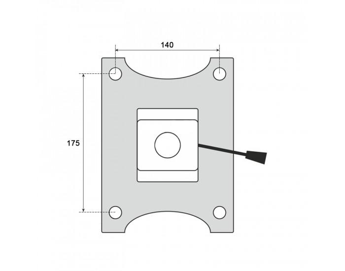 Механизъм за офис стол модел Memo- 6080-1