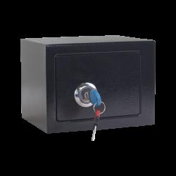 Метален сейф модел Memo-CR-1550-2 XZ - черен - Мебели от метал