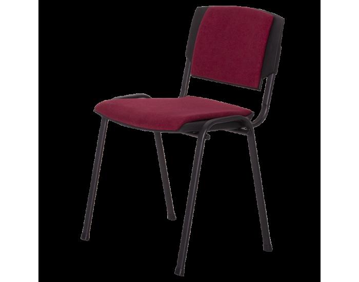 Посетителски стол модел PRIZMA LUX - бордо