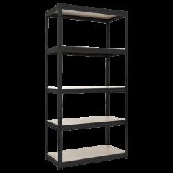 Стелаж модел Memo-Star 275 черен 180*90*45 - Мебели от метал