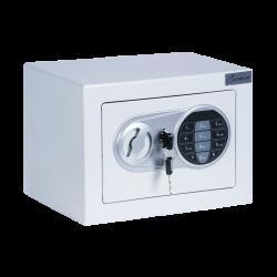 Метален сейф модел Memo-CR-1554 - бял - Мебели от метал