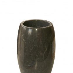 Чаша EX Home модел МР Arman - black, мрамор - Сувенири, Подаръци, Свещи