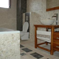 Етно EX Home - White, мрамор - Подови настилки
