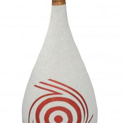Керамична ваза EX Home модел Sand Body 40 см, керамика, пясък - EX Home