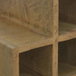Поставки за Бутилки EX Home модел Boston 3, mango - Етажерки